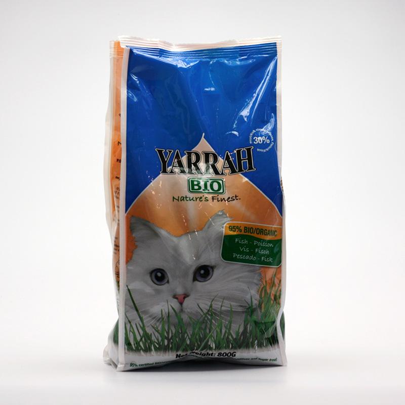 Yarrah Granule pro kočky rybí 800 g