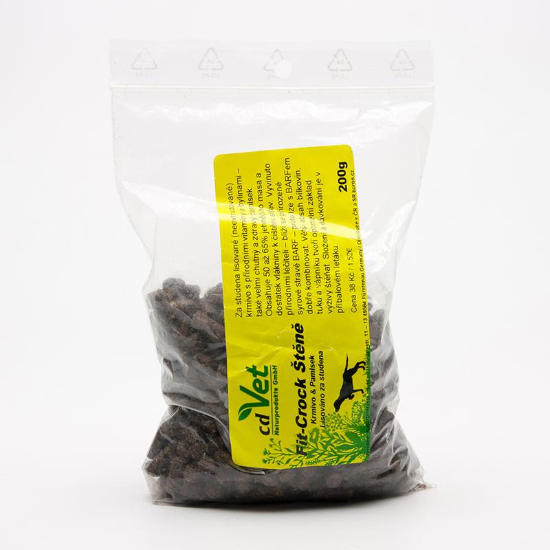 CdVet Lisované krmivo Fit-Crock Štěně 200 g