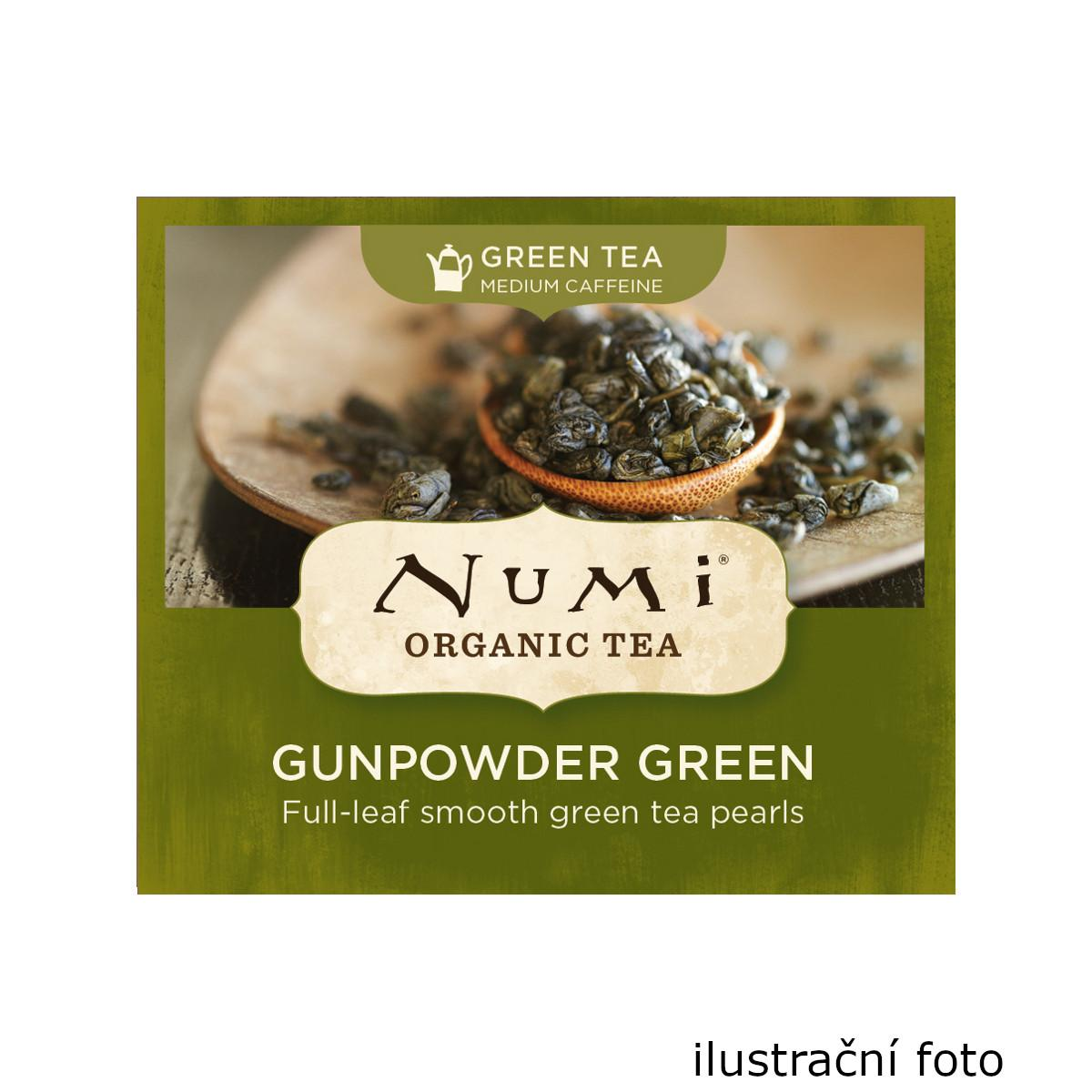 Numi Zelený čaj Gunpowder Green 100 ks, 200 g