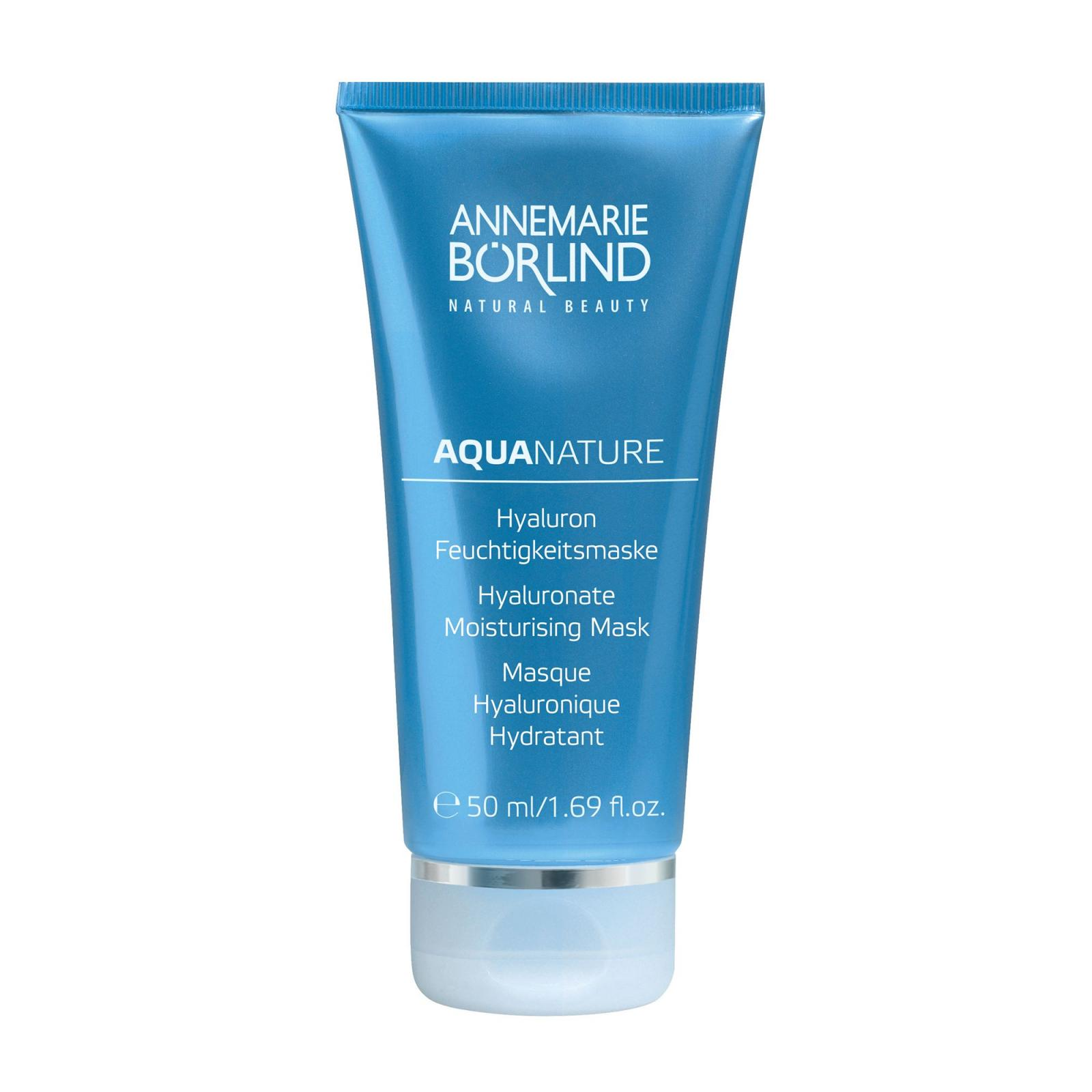 Annemarie Borlind Hyaluronová hydratační maska, Aquanature 50 ml