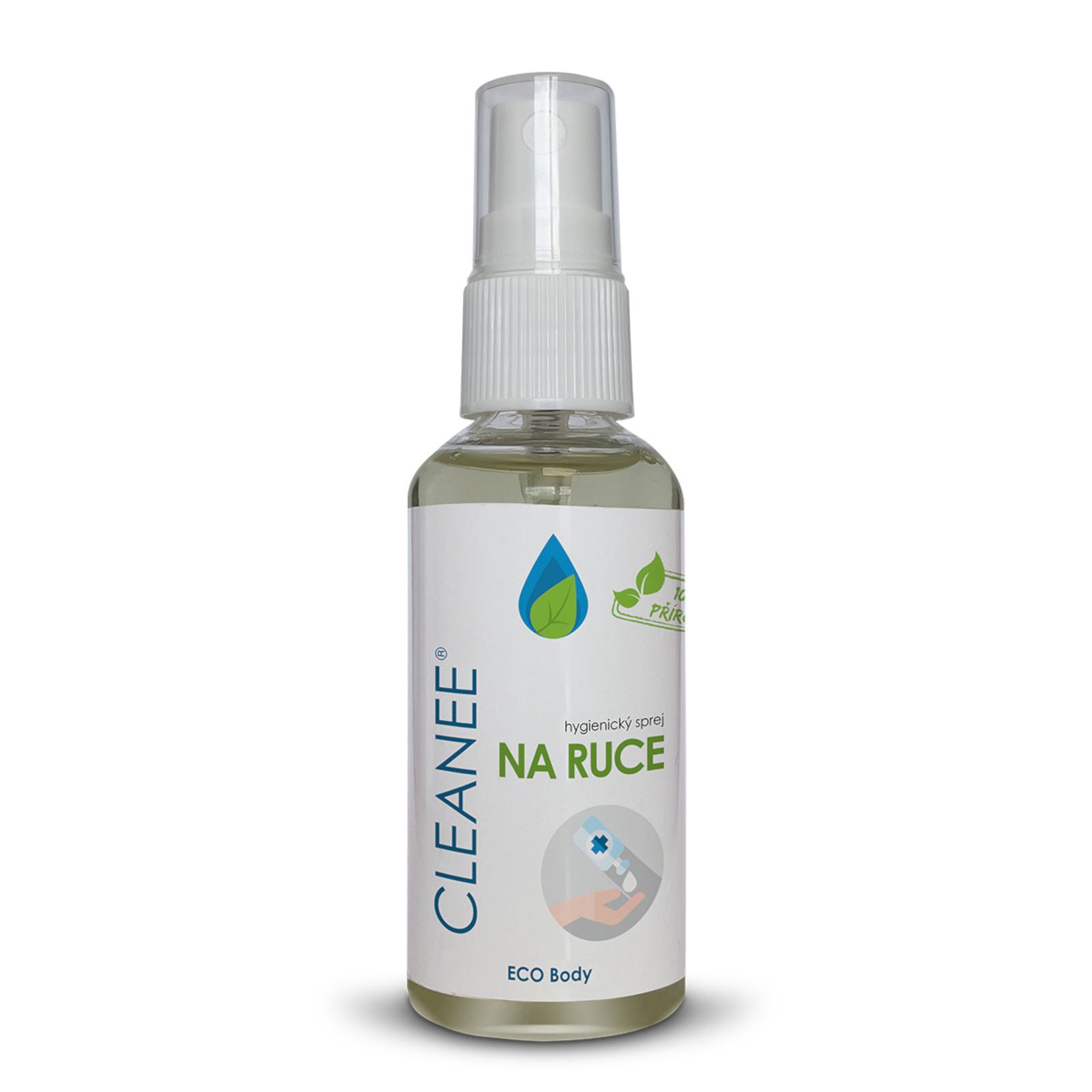 Cleanee přírodní hygienický sprej na ruce