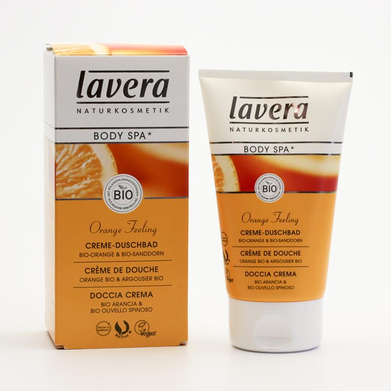 Lavera Sprchový krém pomeranč a rakytník, Body Spa 150 ml