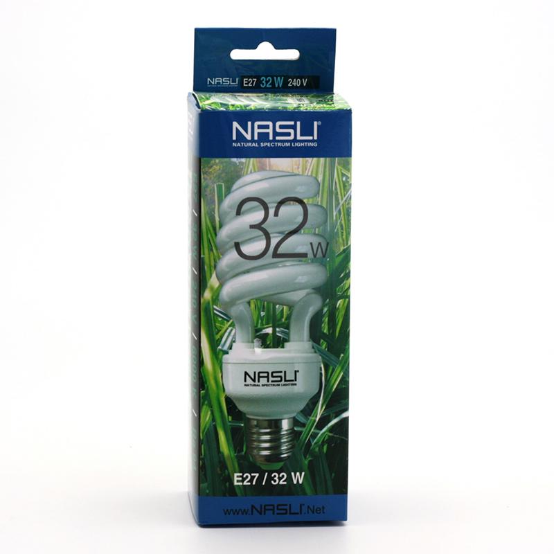 NASLI xxxVýprodej Kompaktní zářivka plnospektrální 32 W, E27 1 ks
