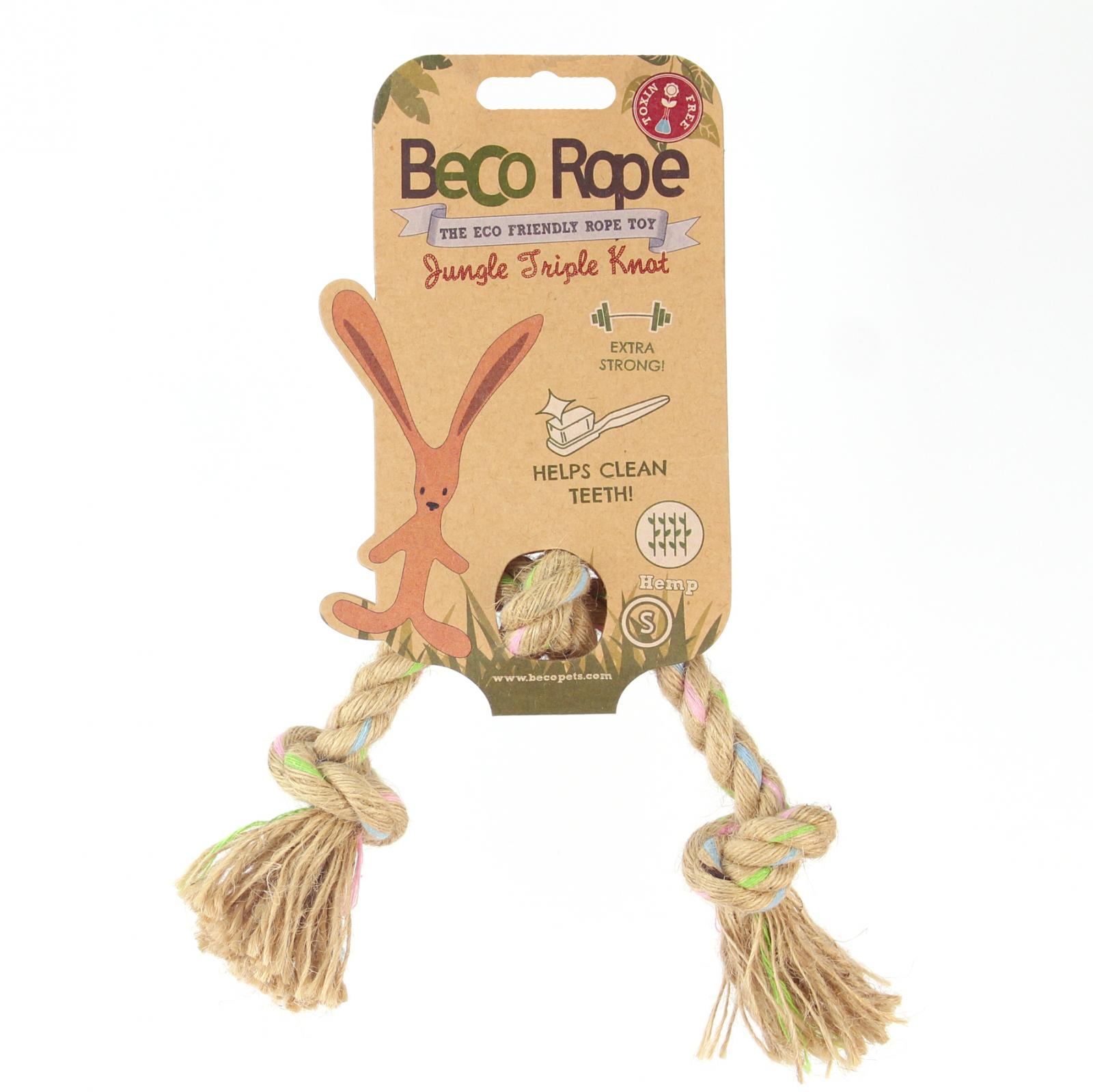 Beco Pets Beco Rope Jungle Triple Knot Small 1 ks