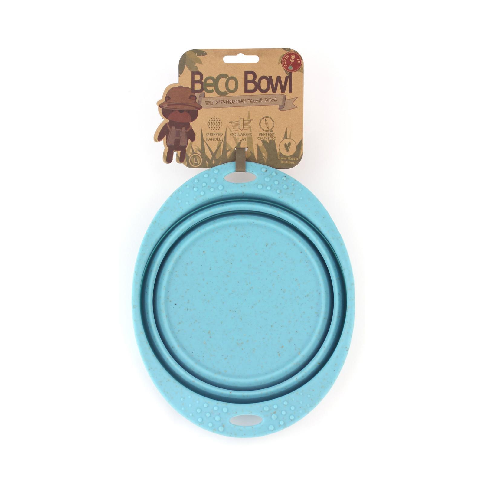 Beco Pets Beco Travel Bowl Large 1 ks, modrá
