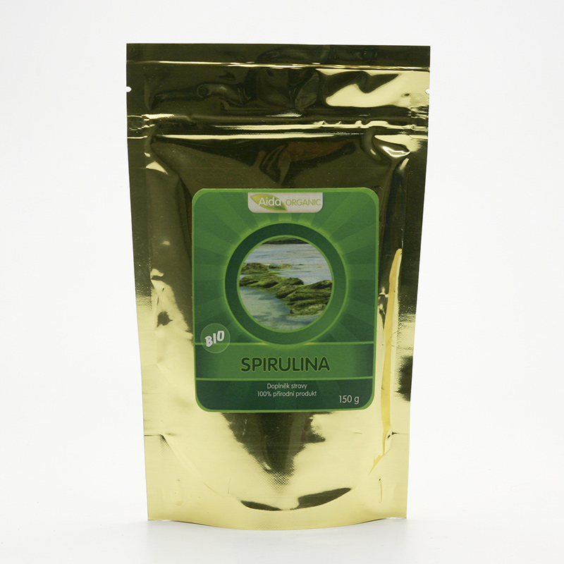 Aida Organic Spirulina bio, prášek 150 g