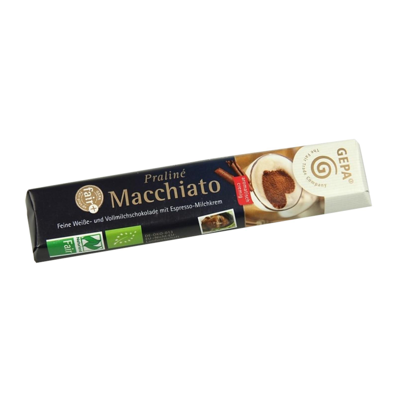 Gepa Čokoláda Bio Fairetta Machiato 37,5 g