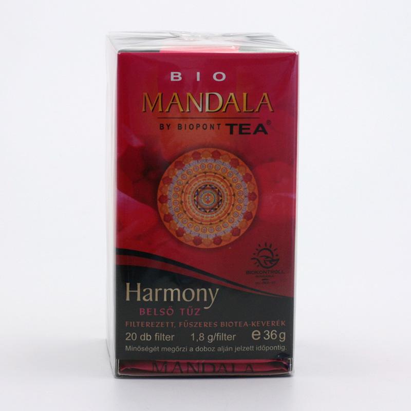 Biopont Čaj Mandala Harmony, harmonie 36 g