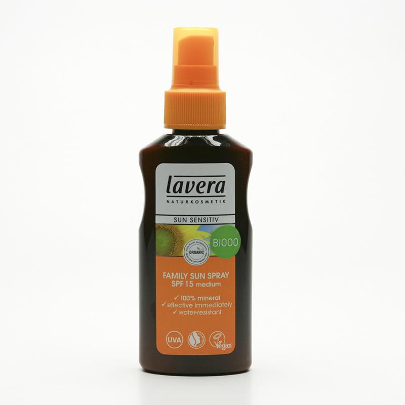 Lavera Mléko opalovací SPF 15 ve spreji, Sun Sensitive 125 ml