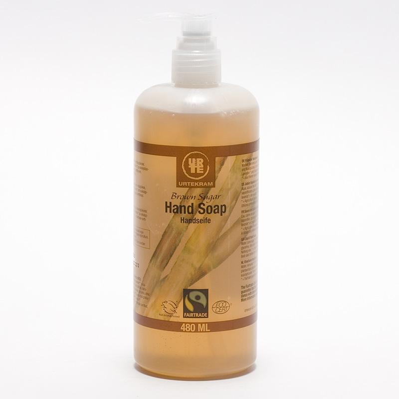 Urtekram Tekuté mýdlo na ruce brown sugar 480 ml