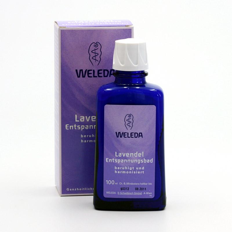 Weleda Koupel levandulová, zklidňující 100 ml