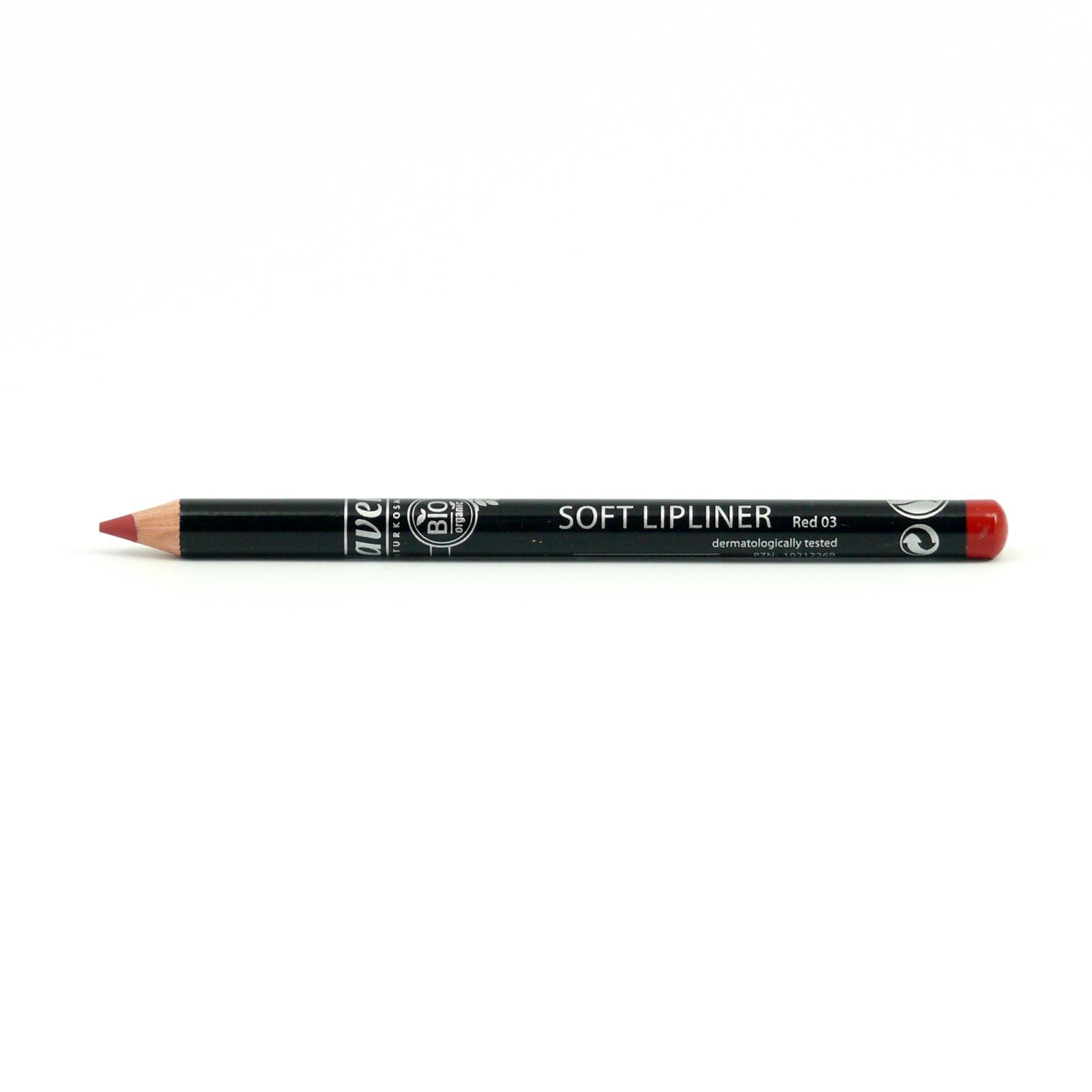 Lavera Konturovací tužka na rty 03 červená, Trend Sensitiv 2014 1,14 g
