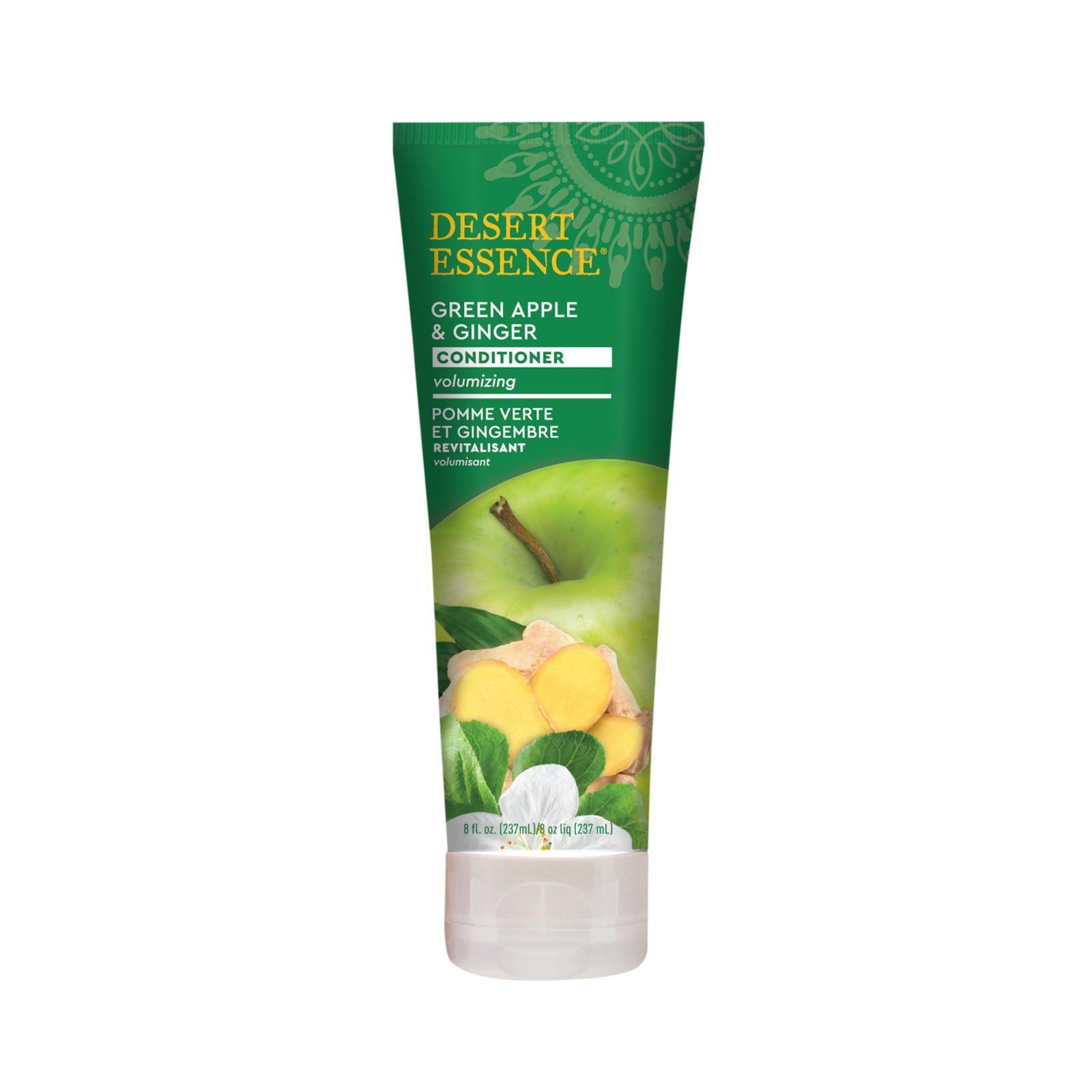 Desert Essence Kondicionér pro jemné vlasy zelené jablko a zázvor 237 ml