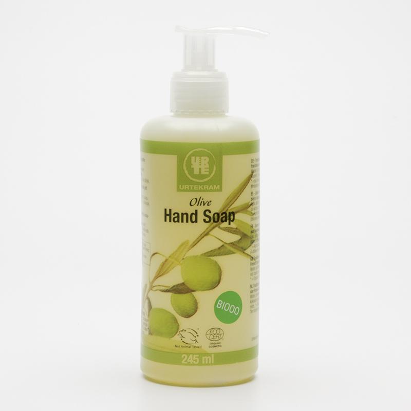 Urtekram Tekuté mýdlo na ruce olivové 245 ml