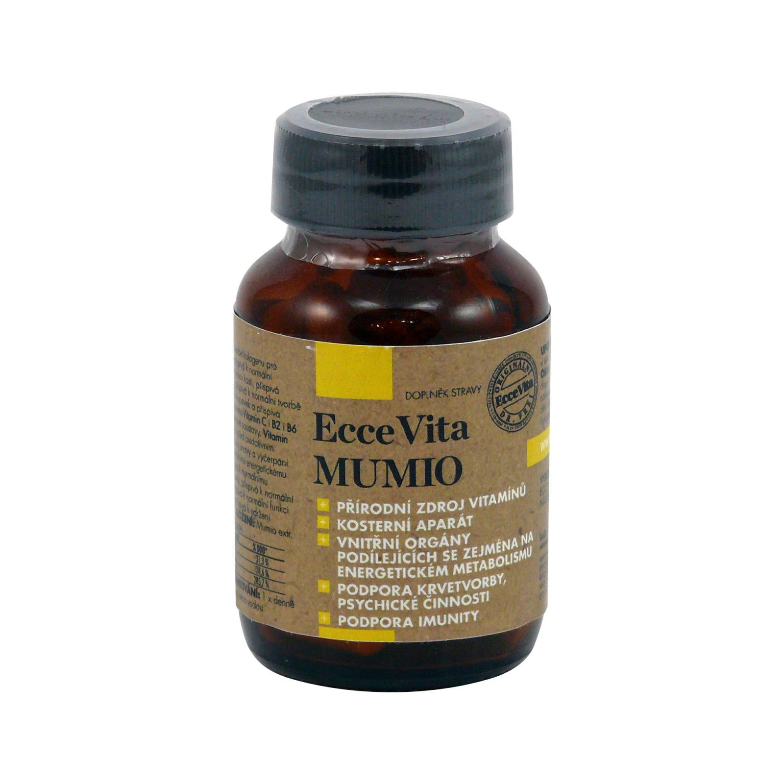 Ecce Vita Mumio, kapsle 60 ks