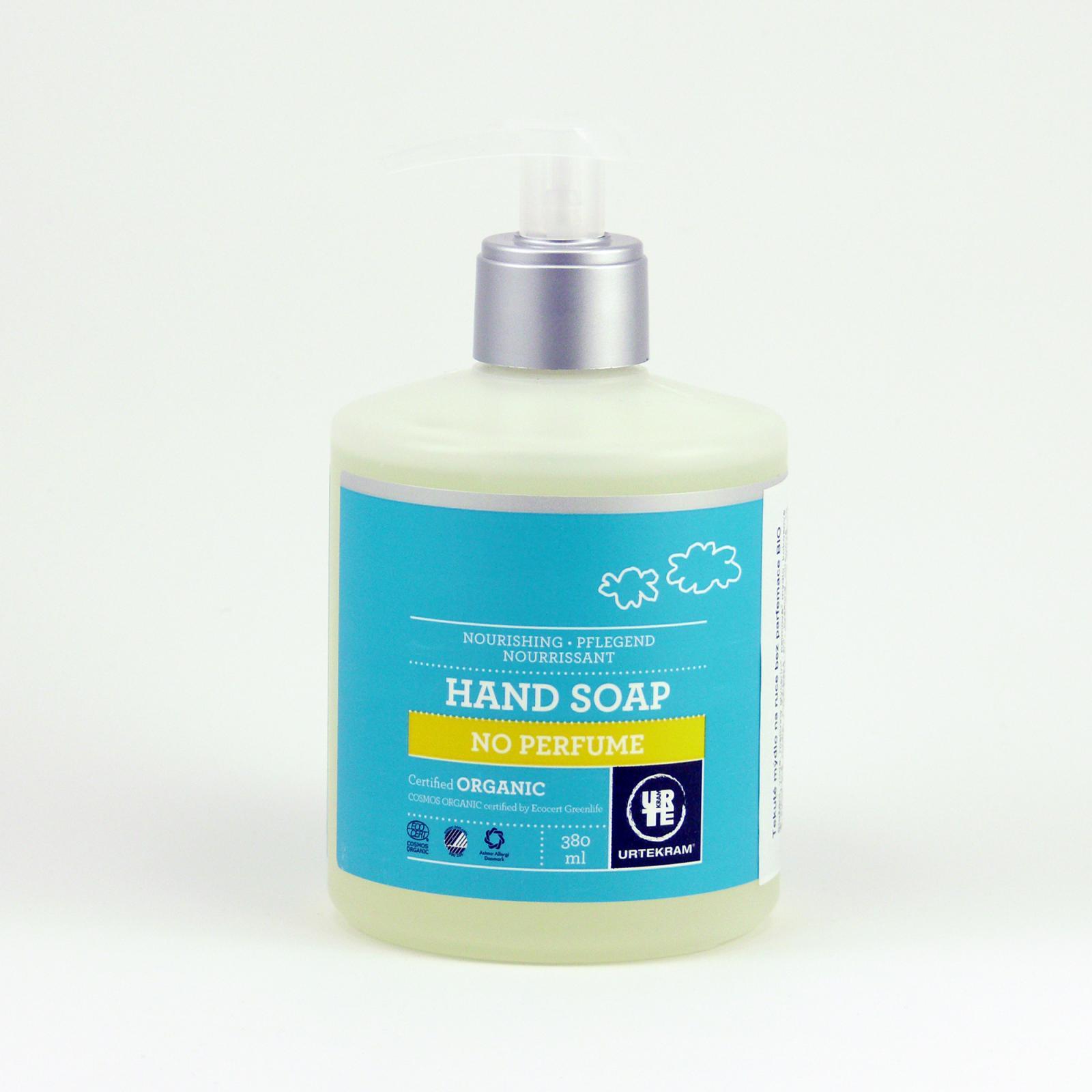 Urtekram Tekuté mýdlo na ruce bez parfemace 380 ml