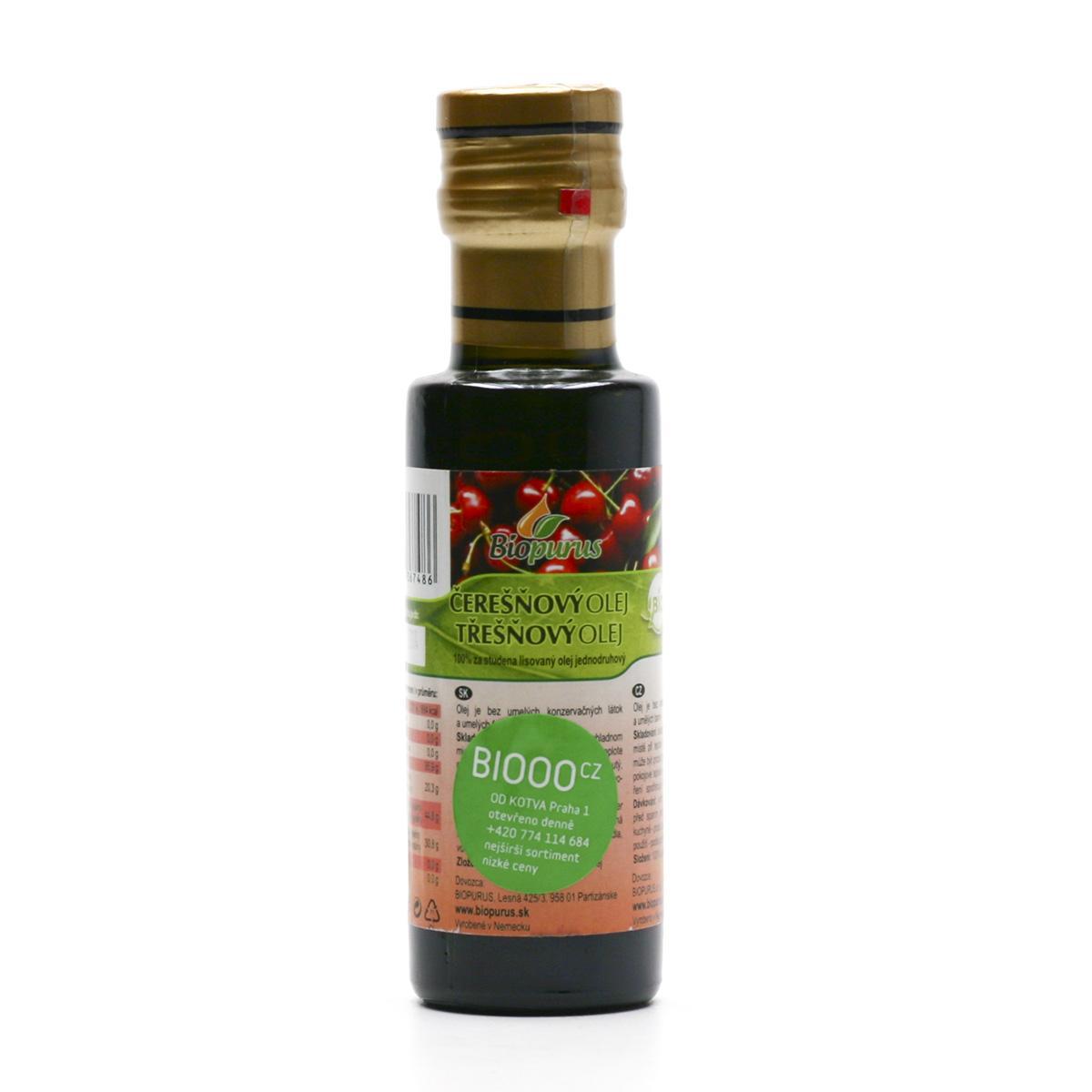 Biopurus Třešňový olej bio 100 ml