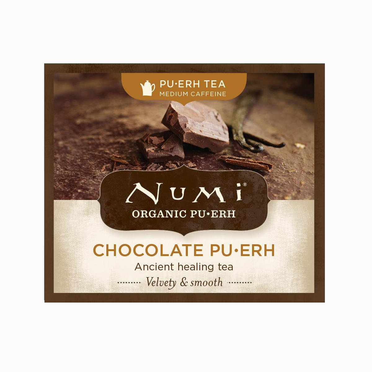 Numi Puerh Chocolate Pu-erh  2,2 g, 1 ks