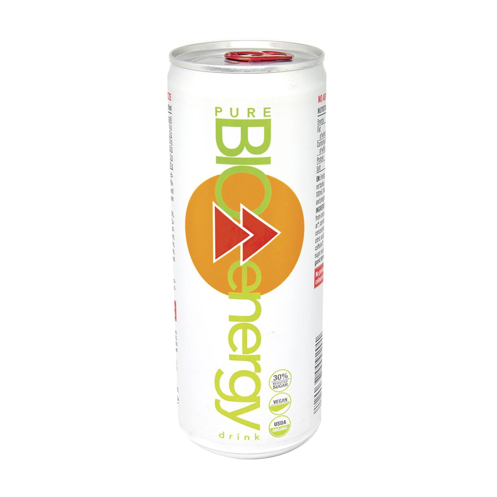 pure BIO Energy drink pomeranč 330 ml