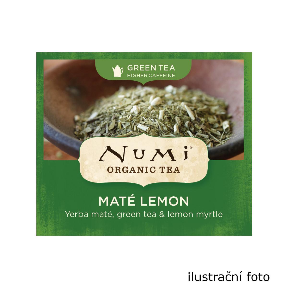 Numi Organic Tea Zelený čaj Mate Lemon Green 230 g, 100 ks