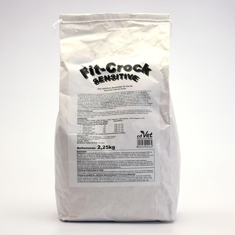 CdVet Lisované krmivo Fit-Crock Sensitive 2,25 kg