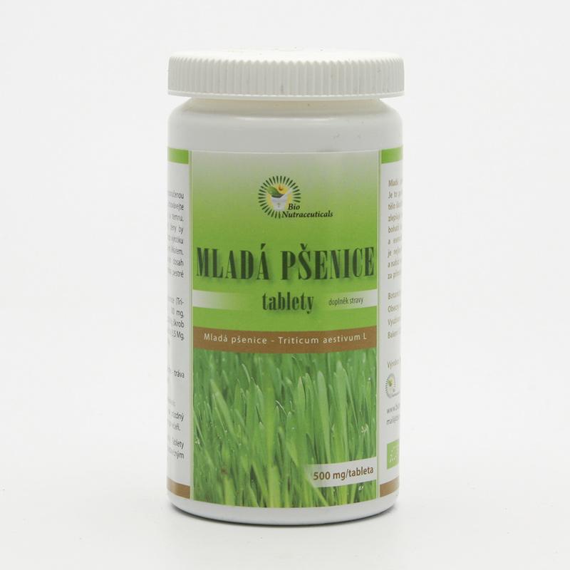 Bio Nutracare Mladá pšenice, tablety 120 tablet, 60 g