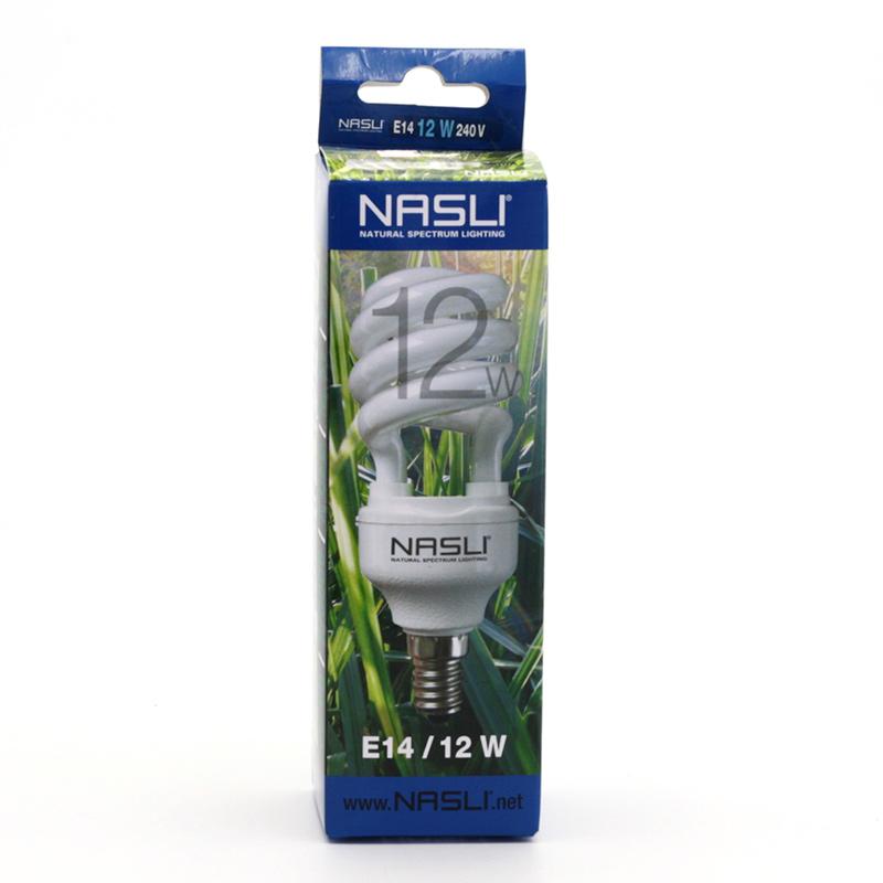 NASLI xxxVýprodej Kompaktní zářivka plnospektrální 12 W, E14 1 ks