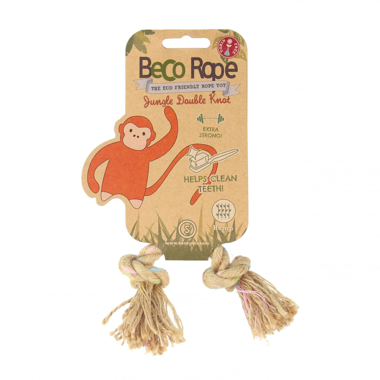 Beco Pets Beco Rope Jungle Double Knot Small 1 ks