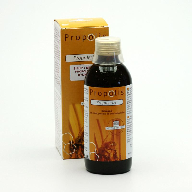Victor Phillippe Sirup Propolerbe s medem, propolisem a bylinkami 150 ml