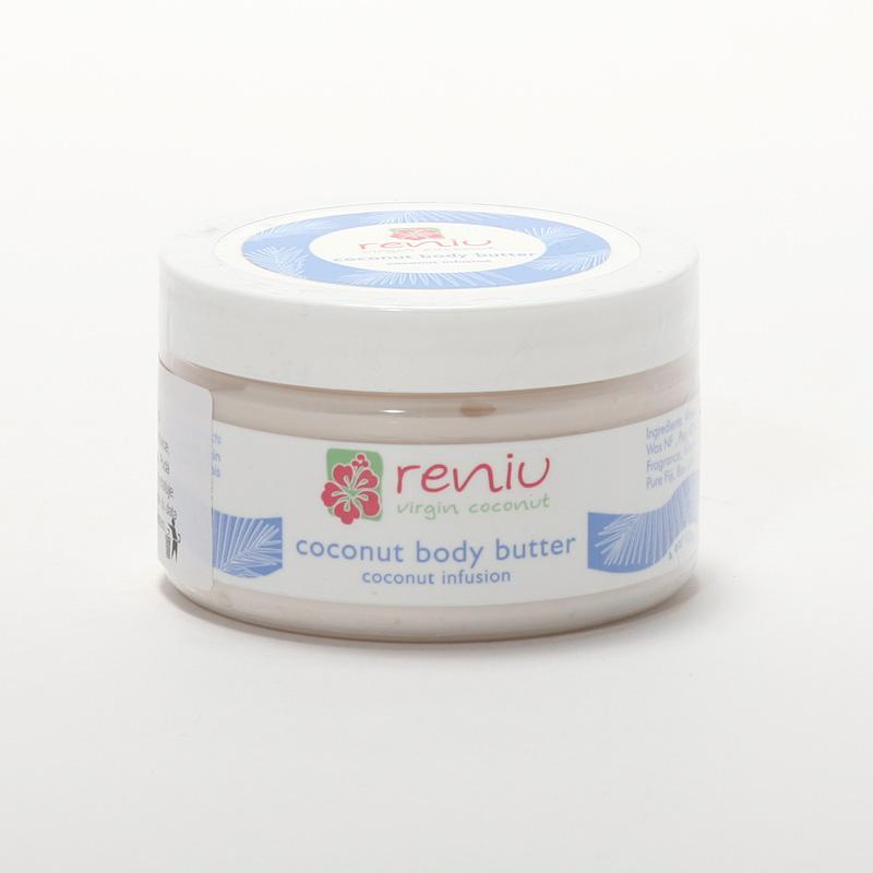 Reniu Fiji Obličejové a tělové máslo, kokos 120 ml