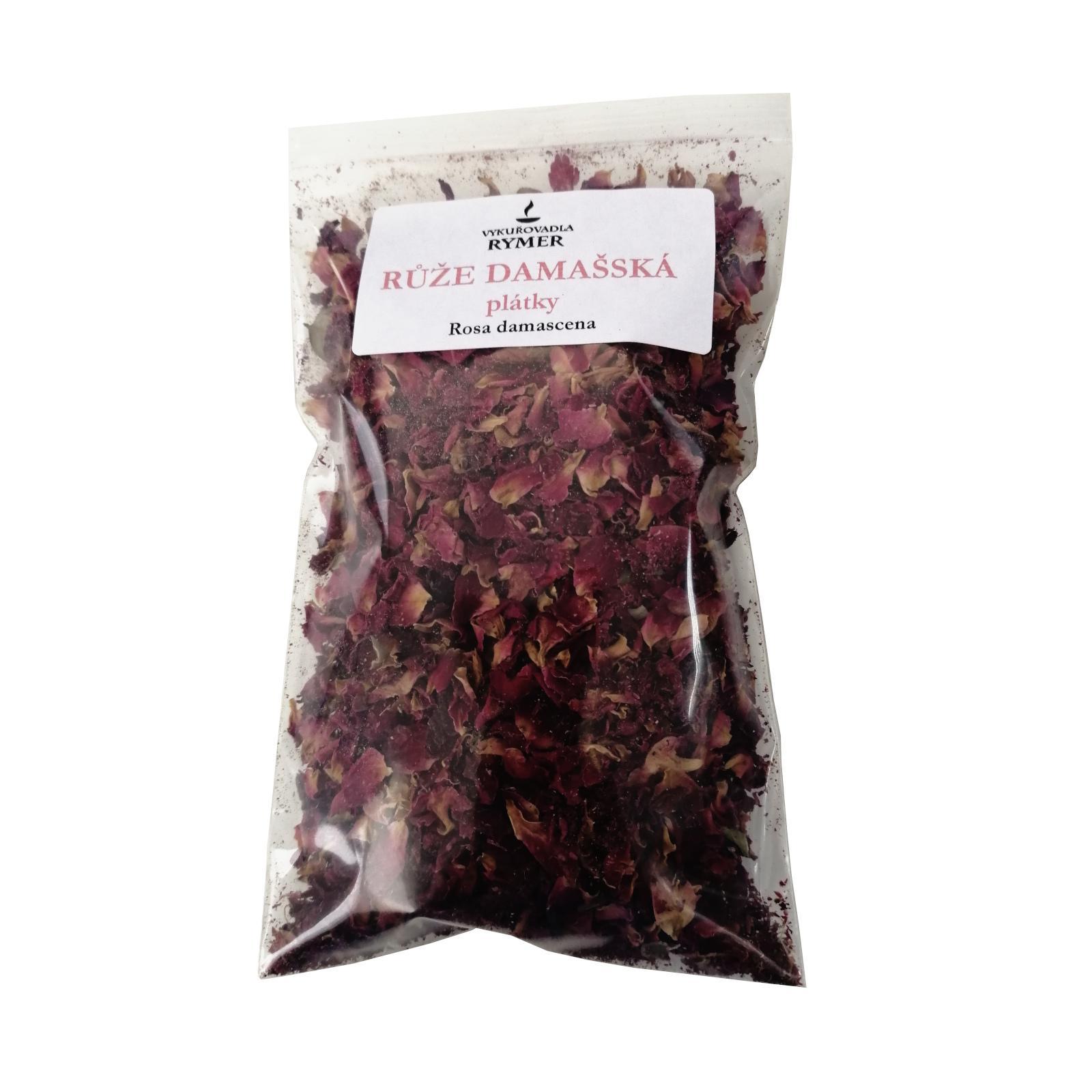 Vykuřovadla Rymer Růže damašská - plátky 20 g
