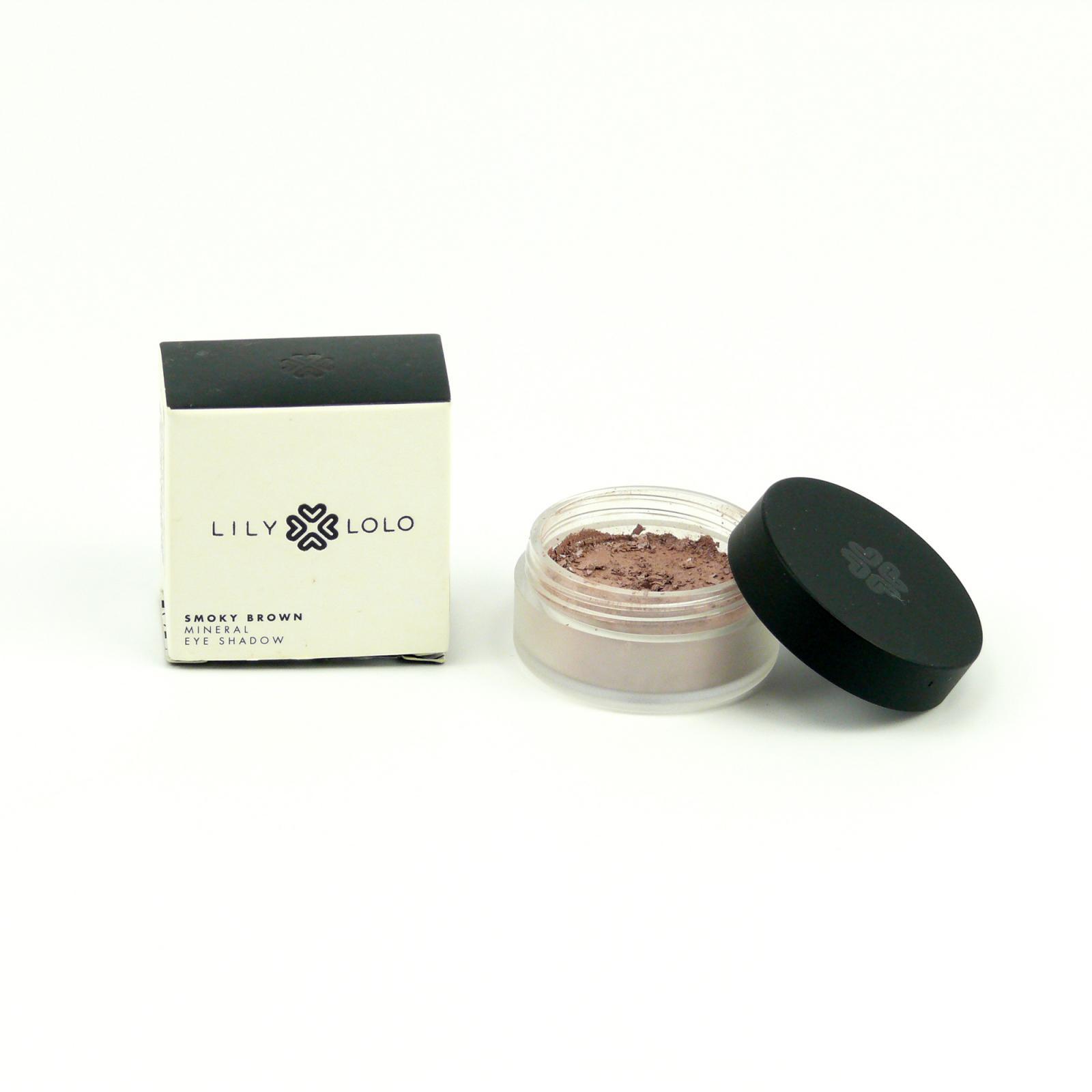 Lily Lolo Mineral Cosmetics Minerální oční stíny Smoky Brown 3 g