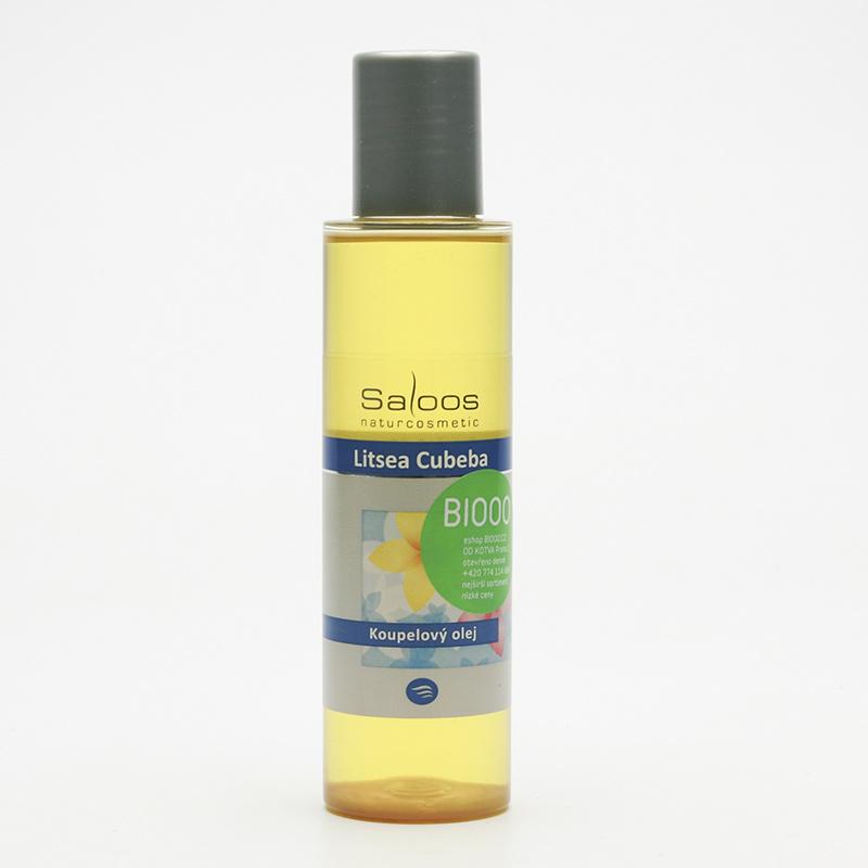 Saloos Koupelový olej litsea cubeba 125 ml