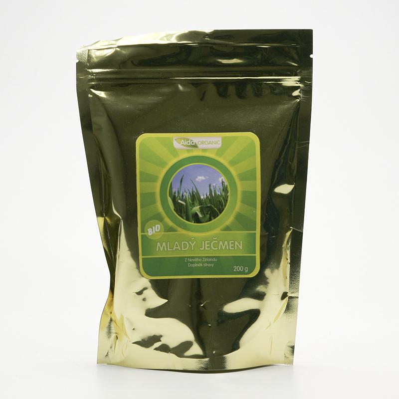 Aida Organic Mladý ječmen, prášek 200 g