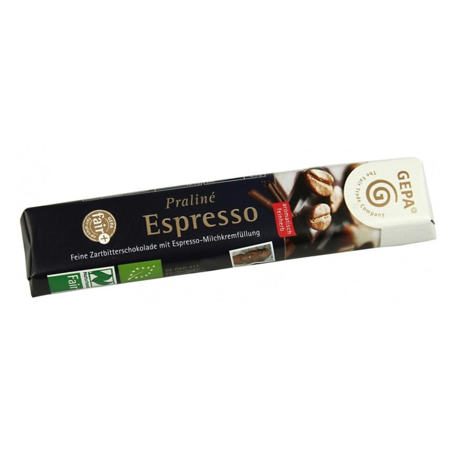 Gepa Čokoláda Bio Fairetta Espresso 37,5 g