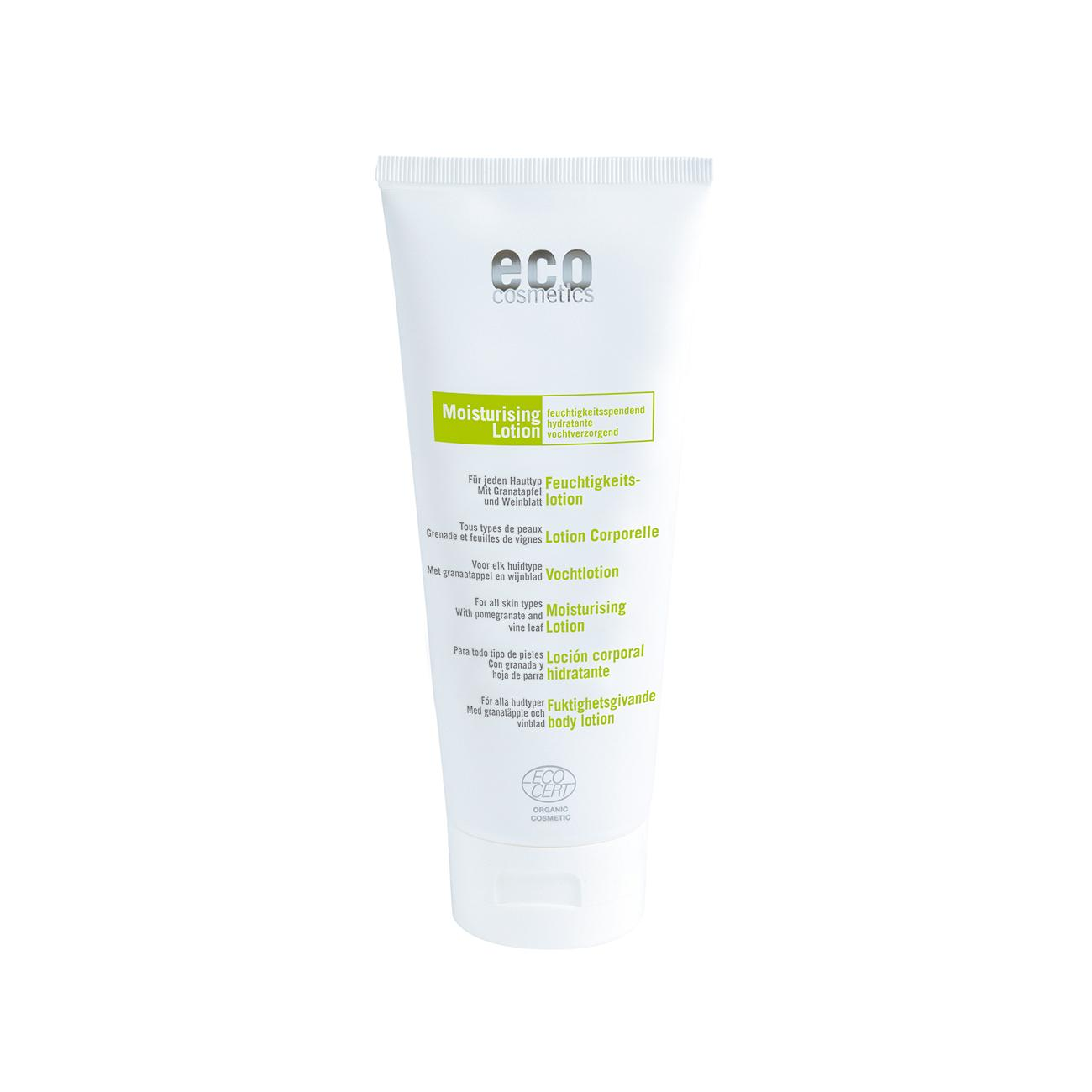 Eco Cosmetics Hydratační mléko vinný list/granátové jablko 200 ml