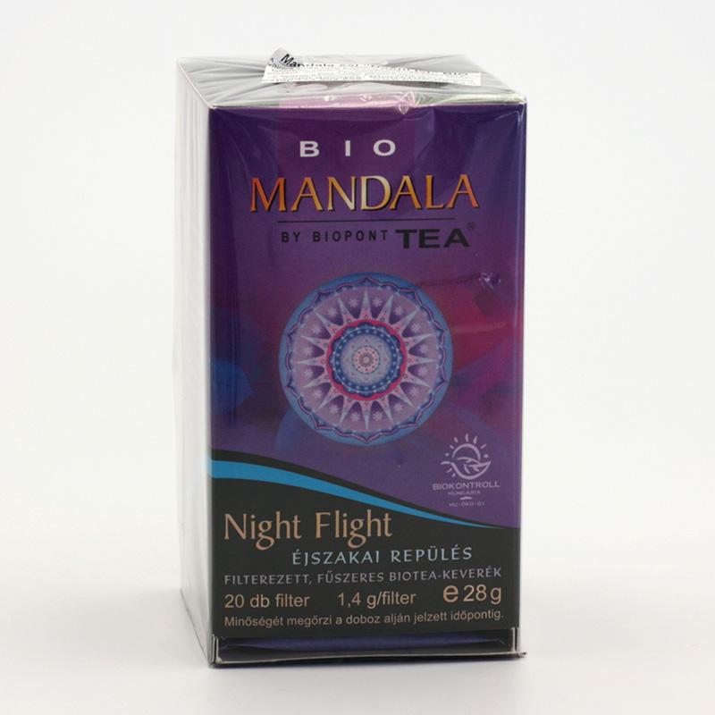 Biopont Čaj Mandala Night Flight, noční let 28 g