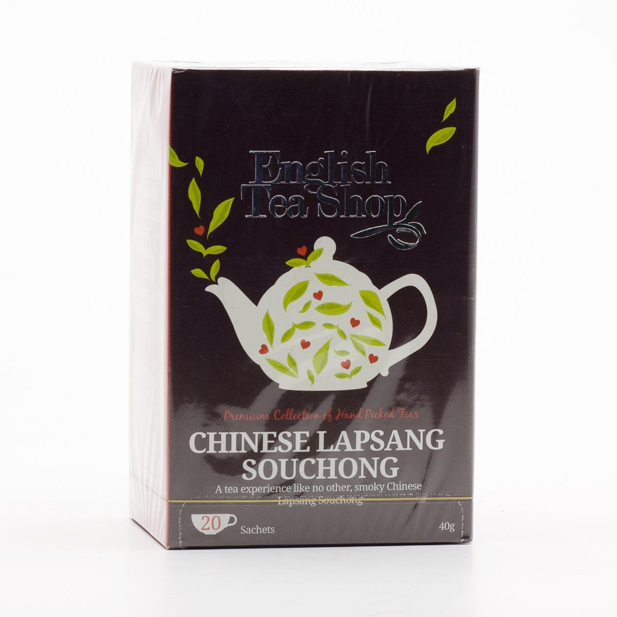 English Tea Shop Černý čaj Lapsang Souchong 20 ks, 40 g