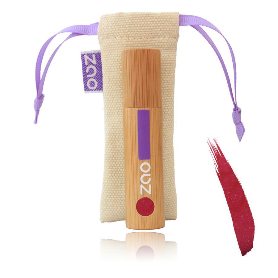 ZAO Lak na rty 035 Raspberry 5 ml bambusový obal