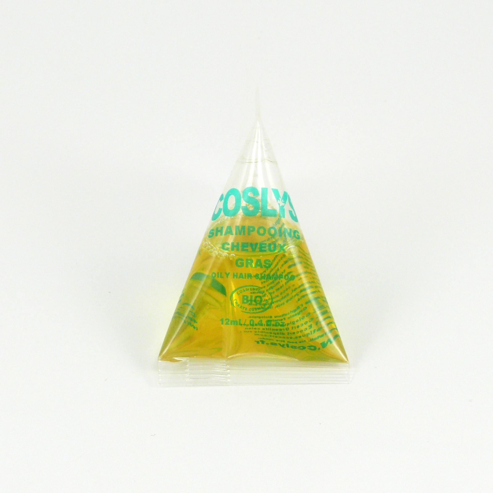 Coslys Šampon pro suché a poškozené vlasy mirabelkový olej 12 ml