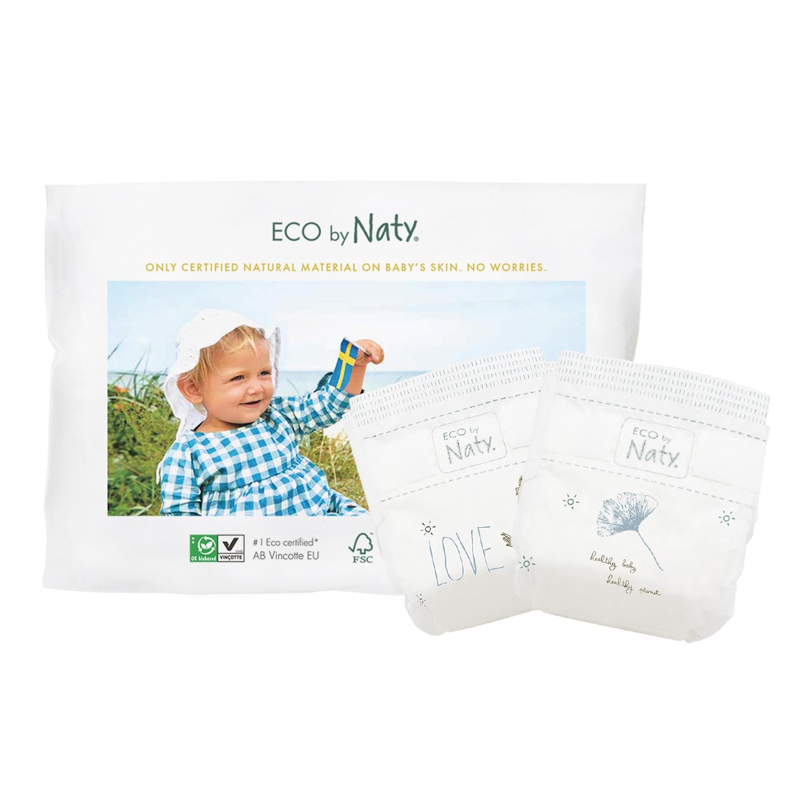Vzorkové balení plenek mini 3-6kg od Eco by Naty