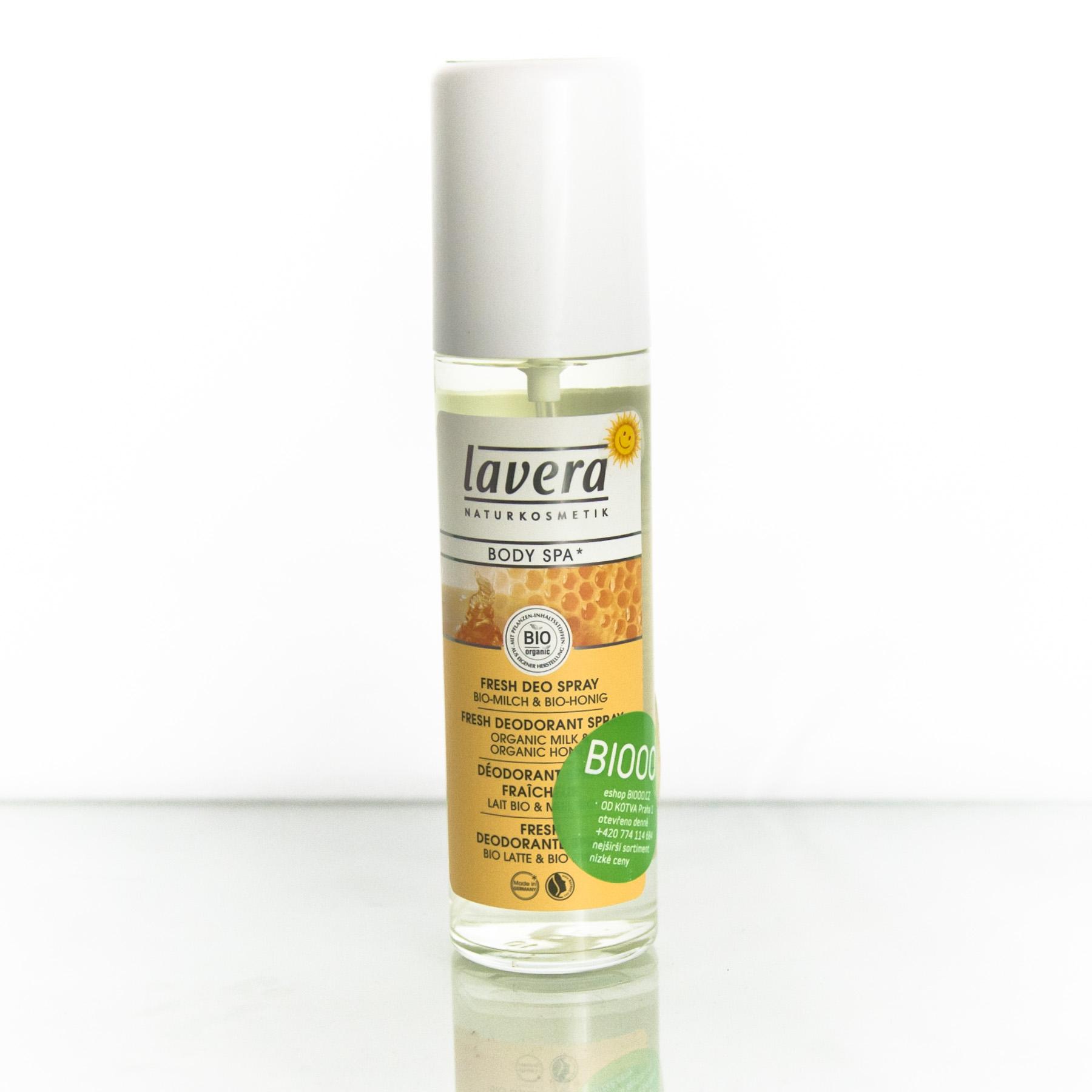 Lavera Deodorant sprej mléko a med, Body Spa 75 ml