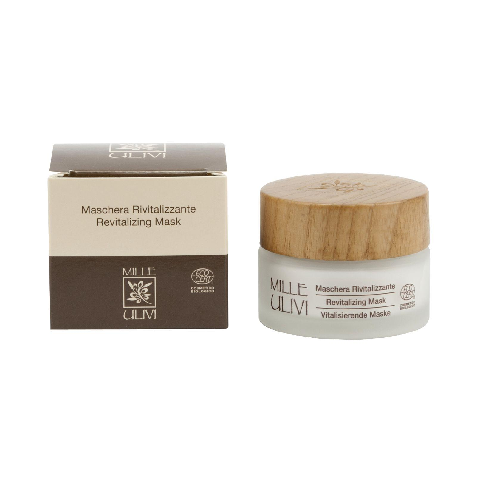 Mille Ulivi Regenerační maska 50 ml olivové dřevo