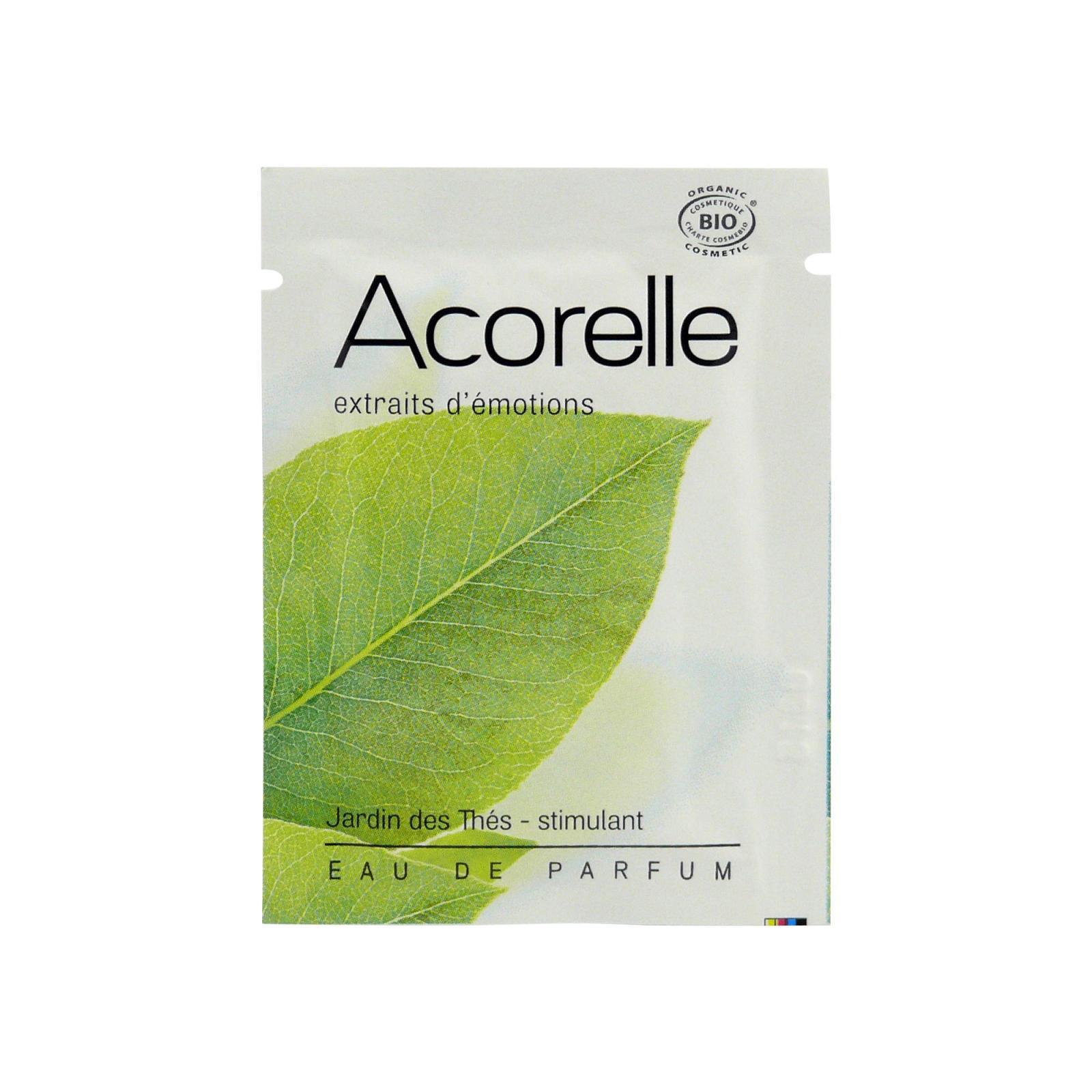 Acorelle Parfémová voda Čajová zahrada 1,5 ml vonný kapesník