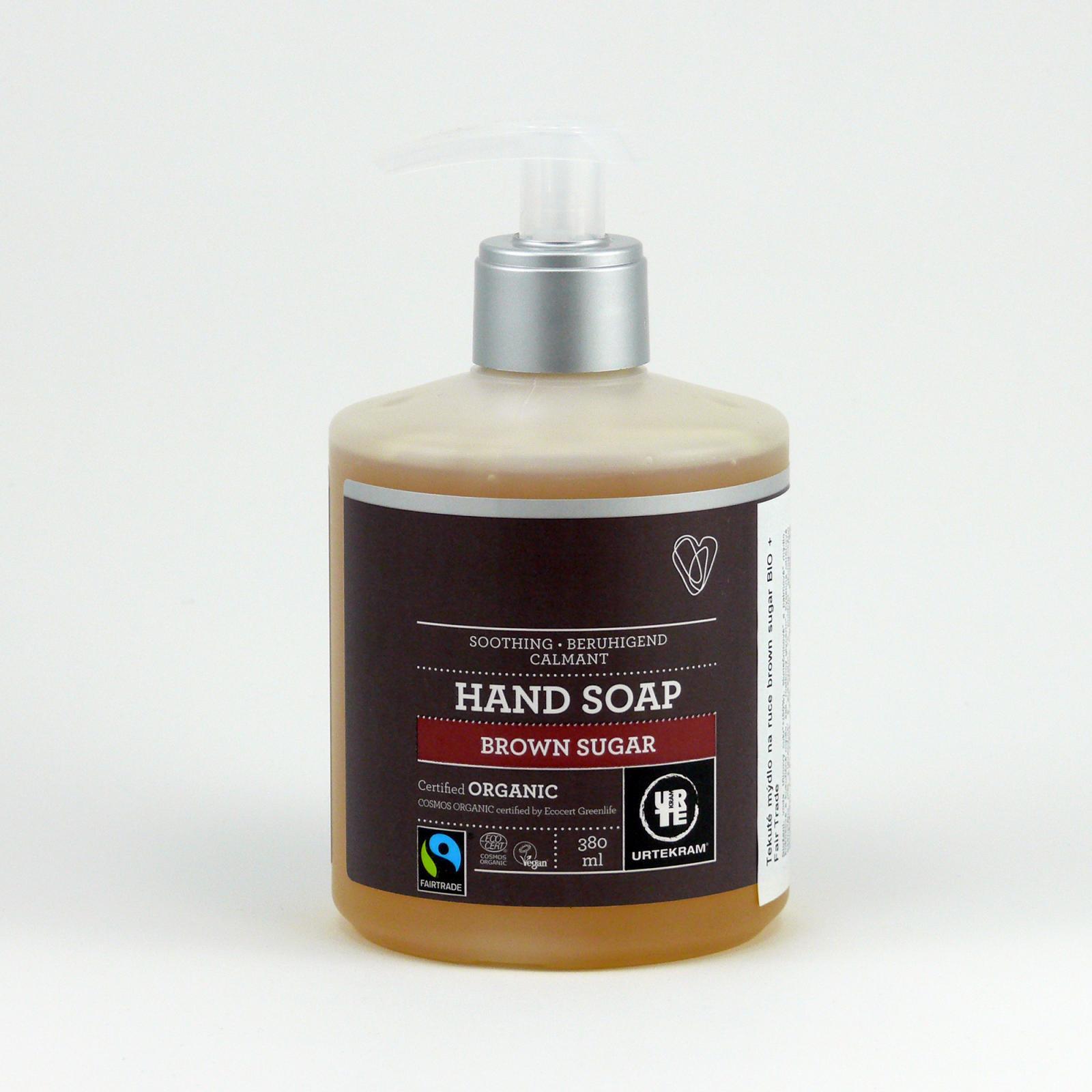 Urtekram Tekuté mýdlo na ruce brown sugar 380 ml