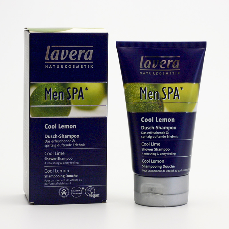 Lavera xxSprchový šampon Cool Lemon, Men Spa 150 ml