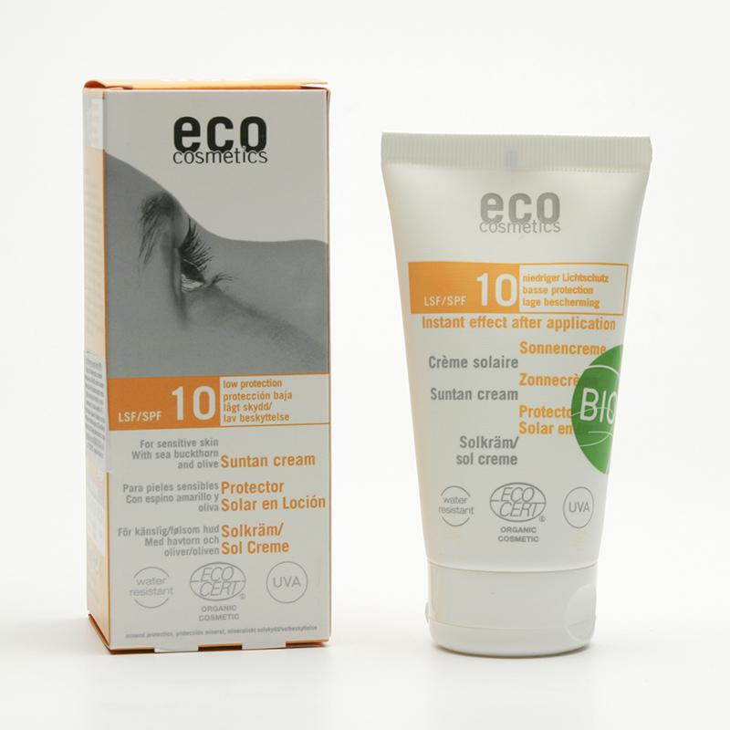Eco Cosmetics Ochranný sluneční krém SPF 10 75 ml