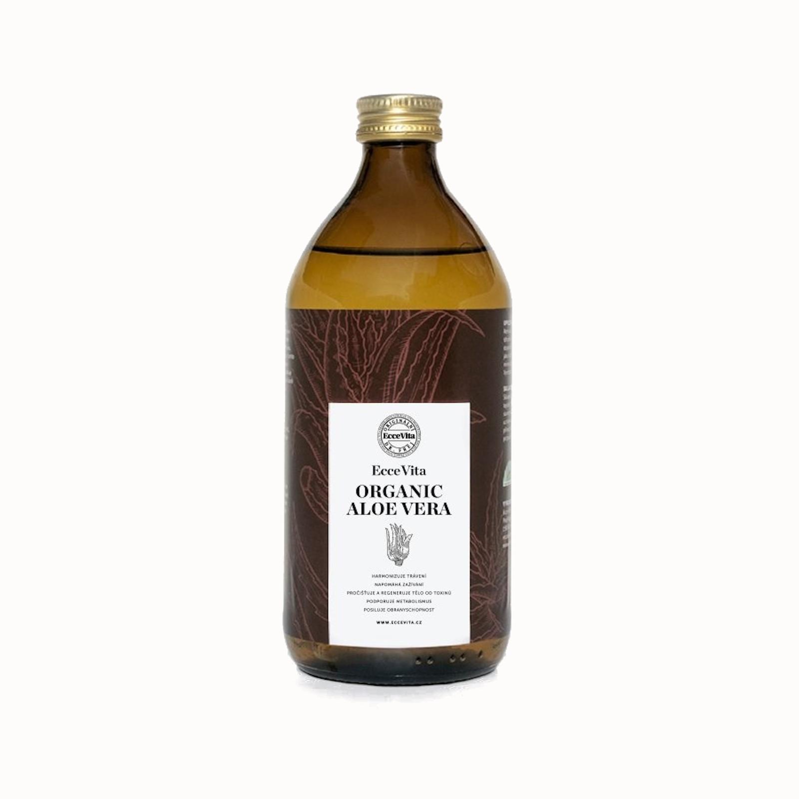 Ecce Vita Bio šťáva z dužiny listů Aloe Vera 1 l