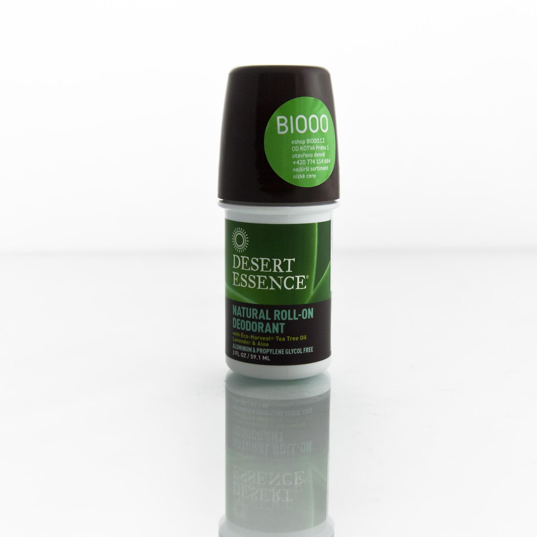 Desert Essence Deo roll on tea tree a levandule 59 ml