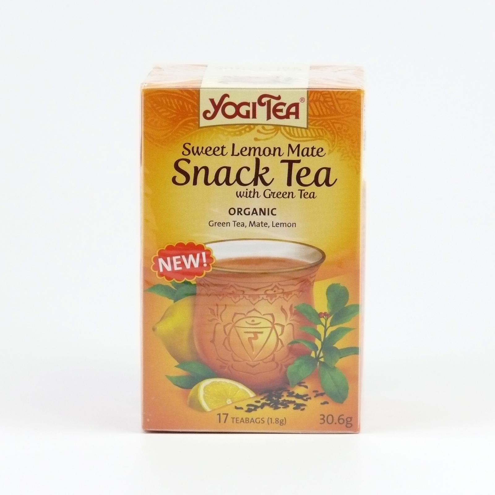 Golden Temple Čaj Yogitea Sweet Lemon Mate, Snack tea 17 ks, 30,6 g